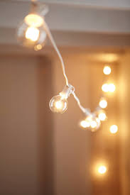 Plastic Globe String Lights White Cord Globe String Lights Urban Outfitters