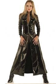 Size Cat Halloween Costumes Buy Size Pvc Black Catsuit Faux Leather Dress Cat