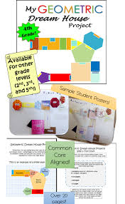 geometry project dream house 4th grade knowledge finals and