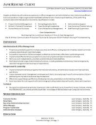 Sle Resume For An Administrative Assistant Entry Level Hr Administrator Resume Sle Size Of Curriculum