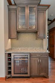 kitchen backsplash glass tile brown with cabinets kitchen and