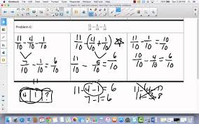 module 5 lesson 18 add and subtract two or more fractions youtube