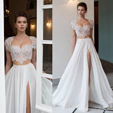 two wedding dresses discount 2018 riki dalal two pieces wedding dresses bead