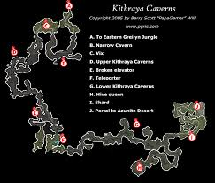 dungeon siege map dungeon siege ii kithraya caverns map png papagamer neoseeker