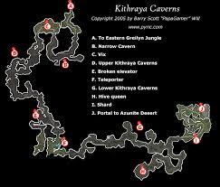dungeon siege map dungeon siege ii kithraya caverns map png papagamer neoseeker