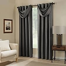 Bed Bath And Beyond Window Shades Paradise Room Darkening Grommet Top Window Curtain Panel And