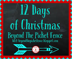 beyond the picket fence 12 days of christmas day 1 pallet tree