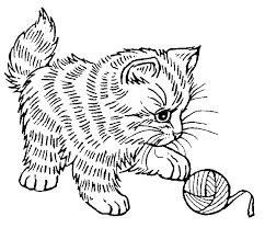 chaton 59 animaux u2013 coloriages à imprimer