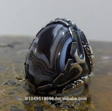 handmade silver ottoman design male ring collection buy