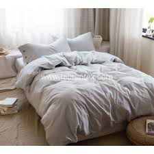 Linen Bedding Sets Washed Linen Bedding Sets China Manufacturer