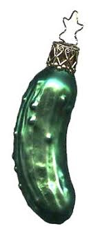 the pickle legend says that the pickle a symbol of