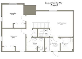 Ranch Style House Plans With Basements Floor Plans For A Basement House Amazing Basement Floor Plans