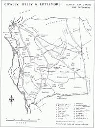 Brown Recluse Map Parishes Iffley British History Online