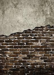 Patio Half Wall Home Design Broken Brick Wall Black And White Patio Gym Broken