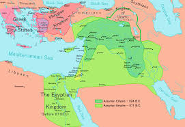 A Map Of The Middle East by Assyria Wikipedia