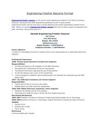 sle resume format for freshers doc resume mca mba format for fresher finance hr marketing systems
