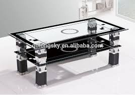 Glass Table Ls New Modern Square Center Table Black Glass Coffee Table Ls 1005