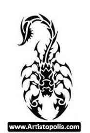 What Do Scorpion Tattoos Tribal Scorpion Designs Tribal Tattoos