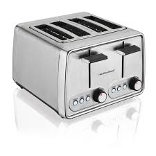 Target Toasters 4 Slice Amazon Com Hamilton Beach Modern Chrome 4 Slice Toaster 24791