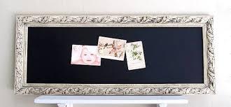tableau magnetique cuisine décoration cuisine tableau étroit rectangle ivoire blanc