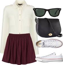 polyvore casual 20 ways to wear your converse sneakers