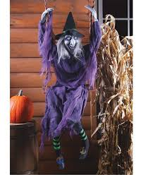 spooky swinging animated look reaper witch or pumpkin halloween