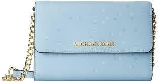 michael kors light blue wallet michael michael kors michl michl kors jet set travel large phone