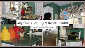 kitchen deep cleaning routine deep clean your kitchen youtube