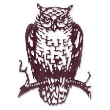 tim holtz halloween dies sizzix thinlits die set by tim holtz ornate owl