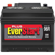 ford fusion battery everstart plus automotive battery size 96r walmart com