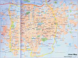 North China Plain Map by China Jinan Map Attractions Sketch City Layout