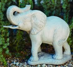 elephant cement garden statue