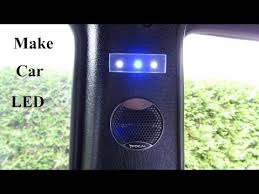 Car Interior Lighting Ideas How To Make A Car Plexiglass Led Light B Panel Youtube