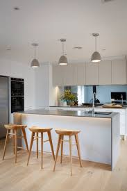 Kitchens With Island Benches Kitchen Inspo Caesarstone Sleek Concrete Benchtop In 20mm With
