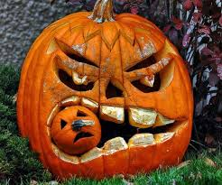 Pumpkin Decorating Without Carving Dashing Faces Pumpkins Carved For Ideas Halloween Outdoor