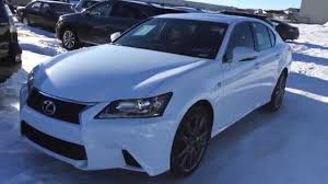 lexus gs 350 interior new ultra white on red 2015 lexus gs 350 awd f sport series 1