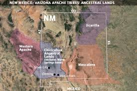 Colorado Casinos Map by A New Apache Homeland In New Mexico Whose Apache Homelands