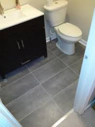 tile flooring ideas bathroom 1 08 sq ft trafficmaster ceramica 12 in x 24 in coastal grey