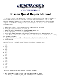 1994 nissan quest wiring diagram wiring diagram simonand