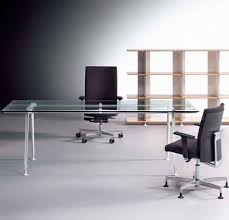Glass Desk 1800  Direct Office Furniture