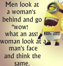 Despicable Me Minion Meme - woman s behind see my despicable me minions pins https