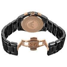 gold armani bracelet images Emporio armani mens ceramic chronograph ar1410 jpg