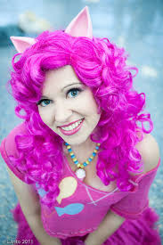 Pinkie Pie Pony Halloween Costume Pinkie Pie Pony Ears Mlp Cosplay Halloween Party Convention Fun