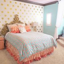 Teal Room Decor Coral And Teal Bedroom Wcoolbedroom Com