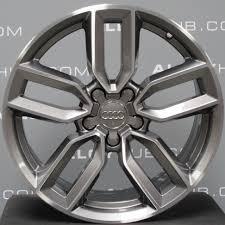 Audi Q7 Black Edition - audi q7 21 inch 5 segment spoke titanium s line black edition