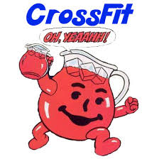 Koolaid Meme - kool aid man crossfit