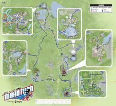 Disney Florida Map by Disney World Marathon 2017 Route Course Map Times Event
