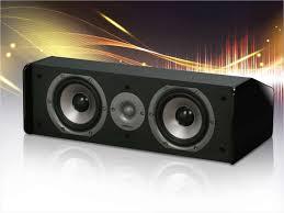 home theater center speaker polk audio cs10 single center speaker black u2013 neweggflash com