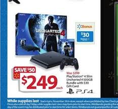 black friday ps4 walmart black friday 2016 ad posted u2014 34 pages of deals on tvs