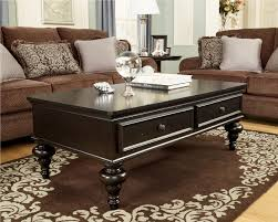 Fabric Coffee Table by Living Room Brown Wood Simple Coffee Table With Grey Shag Fur